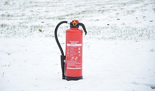 Feuerlöscher - Montage und Wartung